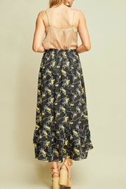 Entro Floral Print Skirt - Side cropped