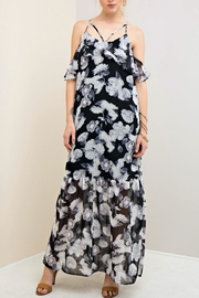 Entro Floral Printed Maxi Dress - Product Mini Image