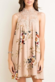 Entro Floral Shift Dress - Product Mini Image