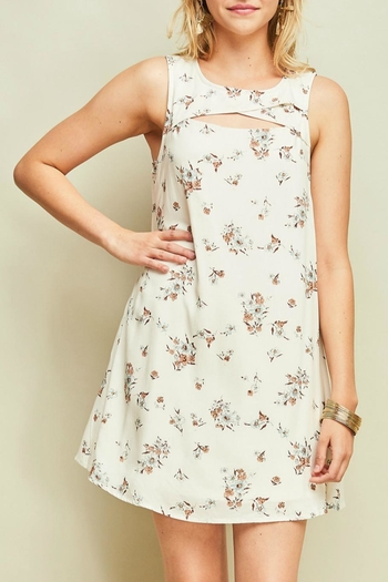 Entro Floral Shift Dress from Colorado by Rock N' Roses Boutique & Gifts — Shoptiques