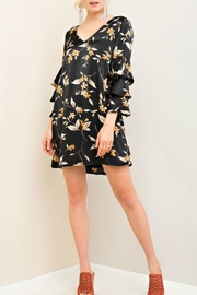 Entro Floral Silk Dress - Product Mini Image