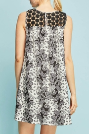 Entro Floral Sleeveless Dress - Side cropped