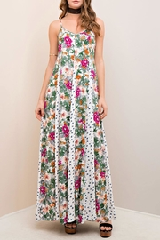 Entro Floral Sun Dress - Product Mini Image