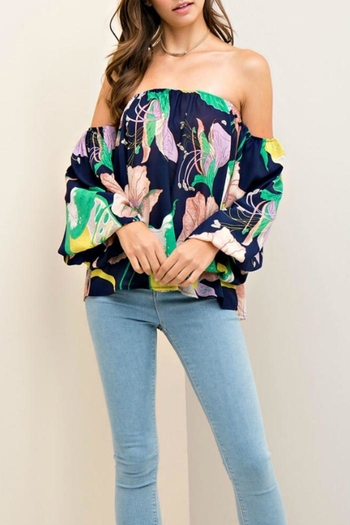 Entro Floral Support Top - Main Image