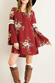 Entro Floral Tassel Dress - Product Mini Image