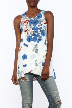 Entro Floral Print Sleeveless Top - Product List Image