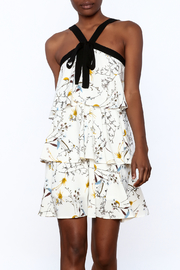Entro Floral Tiered Dress - Product Mini Image