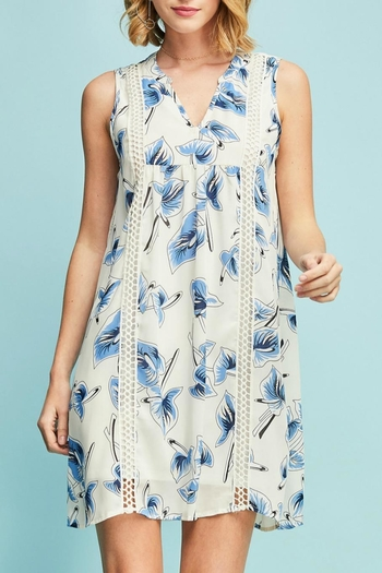 Entro Floral V-Neck Dress from Colorado by Rock N' Roses Boutique & Gifts — Shoptiques