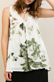 Entro Floral Babydoll Top - Product Mini Image