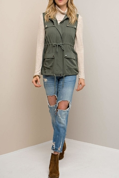 Shoptiques Product: Forest Green Vest