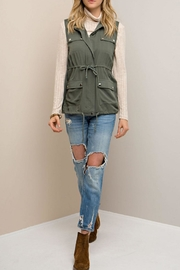 Entro Forest Green Vest - Product Mini Image