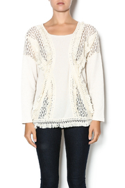 Entro Fringe Sweater - Product Mini Image