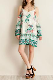 Entro Garden Floral Dress - Product Mini Image