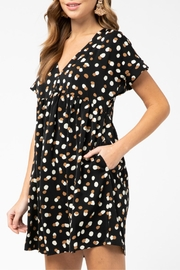Entro Geometric Print Dress - Side cropped