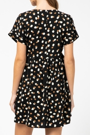 Entro Geometric Print Dress - Back cropped