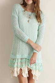 Entro Girly Lace Top - Front cropped