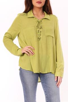 Shoptiques Product: Green String Top