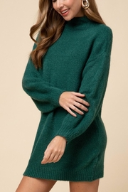 Entro Green Sweater Dress - Product Mini Image