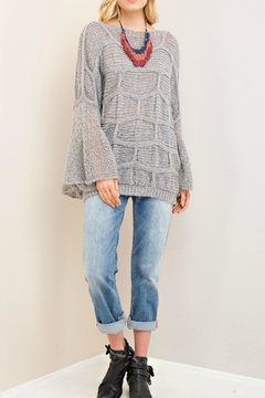 Shoptiques Product: Grey Soft Sweater
