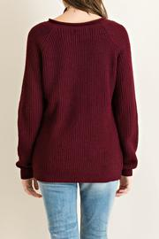 Entro Grommett Lace Sweater - Side cropped