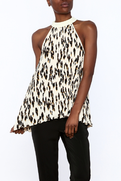 Shoptiques Product: Animal Print Swing Top