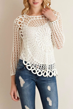 Shoptiques Product: Hand Crocheted Top