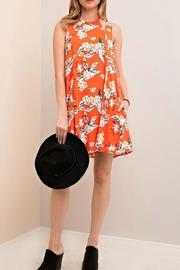 Entro Hawaiian Print Dress - Product Mini Image