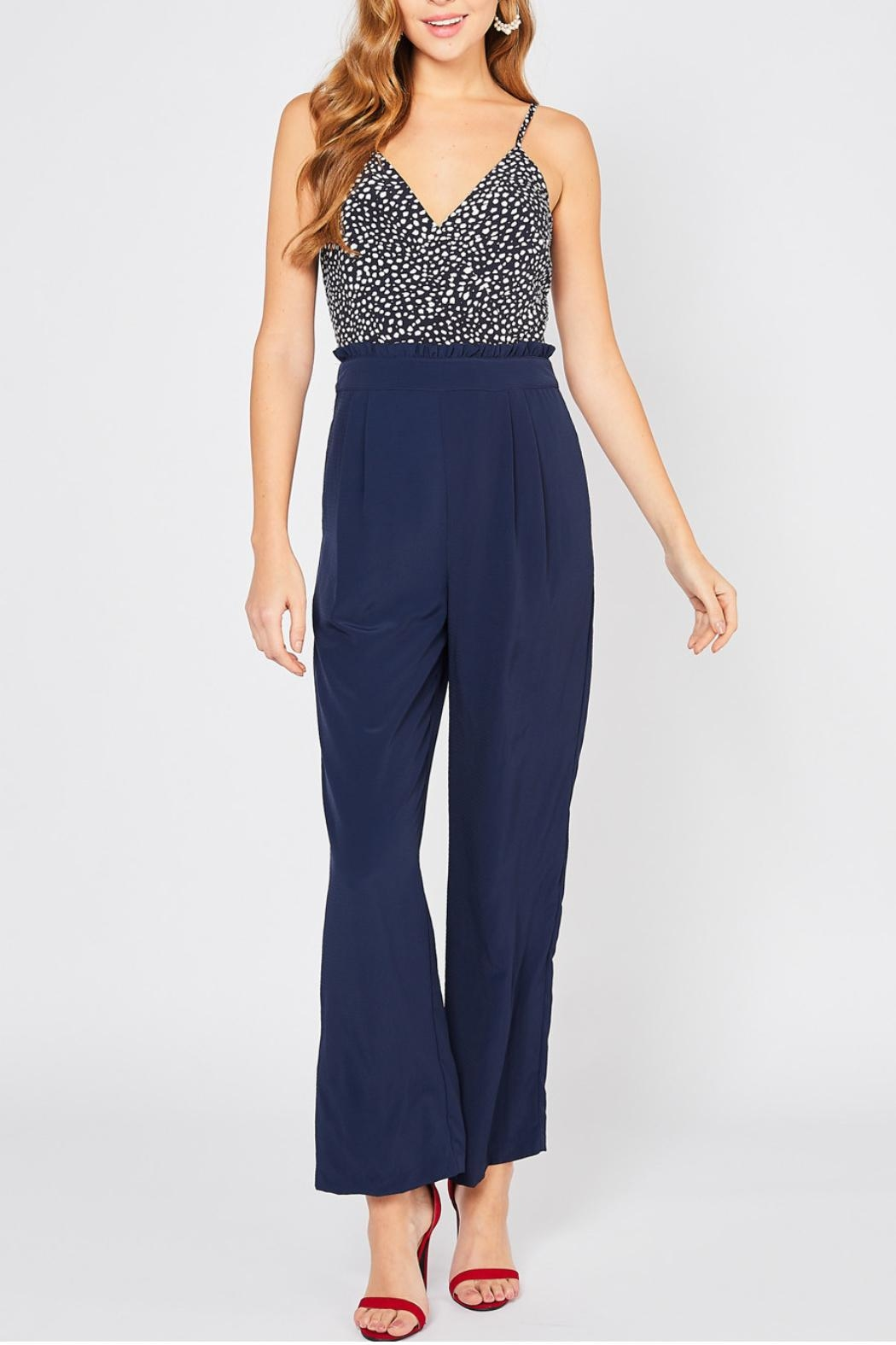 Entro High Waisted Jumpsuit - Main Image