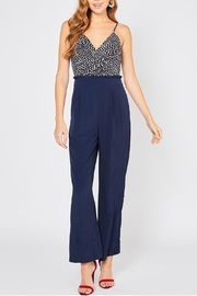 Entro High Waisted Jumpsuit - Front cropped