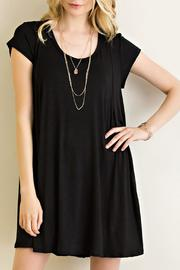 Entro Knit Trapeze Dress - Front cropped