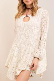 Entro Lace A Line Tunic Top - Product Mini Image