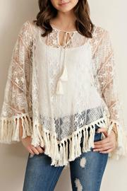 Entro Lace Poncho - Product Mini Image
