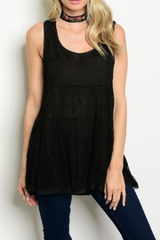 Entro Lace Tunic Tank - Product Mini Image