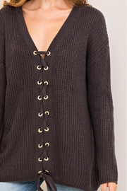 Entro Lace Up Sweater - Other