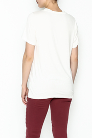 Entro Lace Up Tee - Back cropped