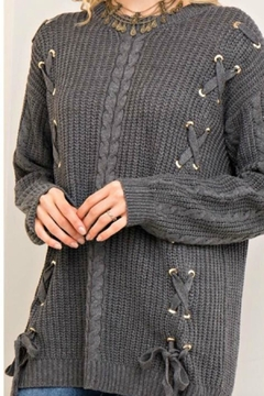 Shoptiques Product: Laced Down Sweater