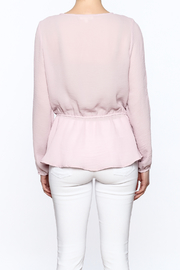 Entro Laced Up Blouse - Back cropped