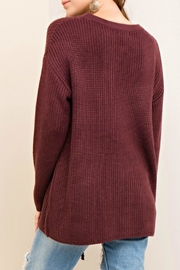 Entro Laced Up Sweater - Side cropped