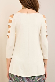 Entro Ladder Sleeve Top - Side cropped