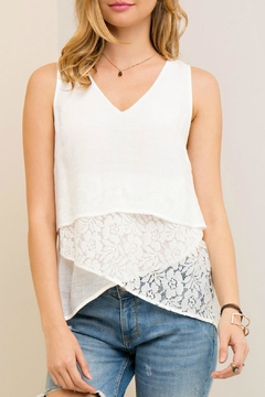 Shoptiques Product: Layered Lace Tank
