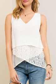 Entro Layered Lace Tank - Product Mini Image