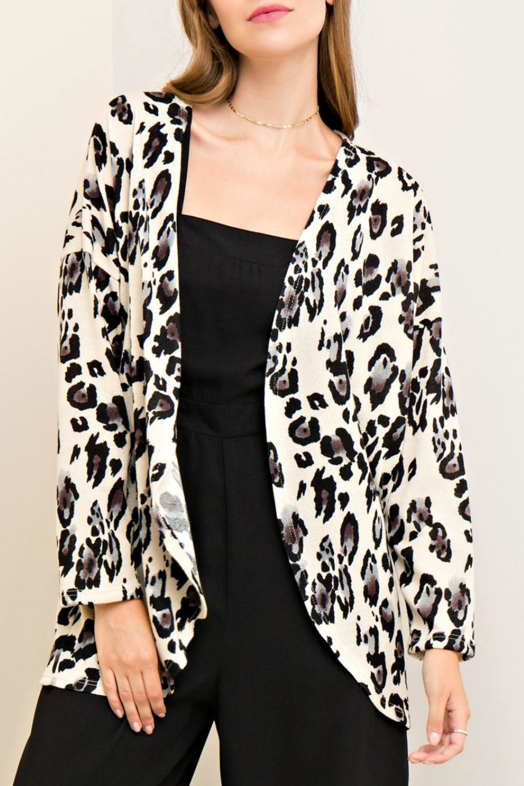 Entro Leopard Print Cardigan from Kansas by Seirer's Clothing ...