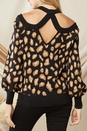 Entro Leopard Print Sweater - Other