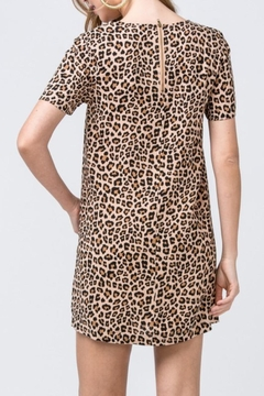 Entro Leopard Shift Dress - Alternate List Image