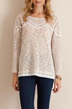 Shoptiques Product: Knit Crochet Sweater