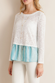 Entro Back Tie Sleeve Top - Other