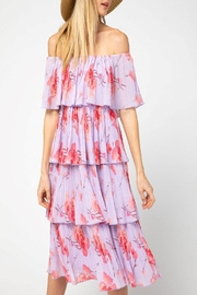 Entro Long Tiered Dress - Product Mini Image