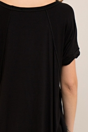 Entro Loop Cut V-Neck Tee - Other