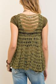 Entro Loose Knit Vest - Front full body