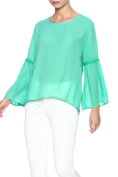 Shoptiques Product: Mint Bell Sleeve Top